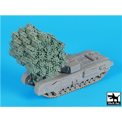 Black Dog T72109 1/72 Frame fascine for Churchill MK IV - Dragon