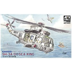 AFV Club AR14405 1/144 Sikorsky SH-3A/D Sea King Contains 2 kits