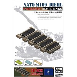 AFV Club AF35307 1/35 NATO M-109 Diehl workable track links