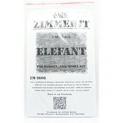 ATAK ZM1606 1/16 Zimmerit Elefant For Hobben, Ark Model Kit