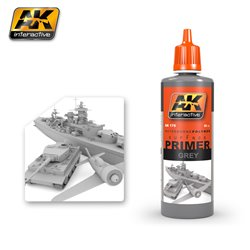 AK Interactive AK175 GREY PRIMER 60ML