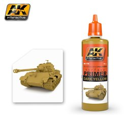 AK Interactive AK176 DARK YELLOW PRIMER 60ML