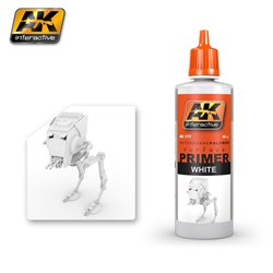 AK Interactive AK177 WHITE PRIMER 60ML