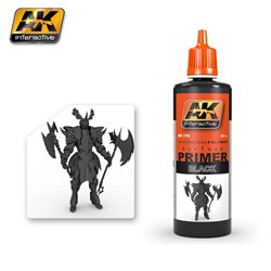 AK Interactive AK178 BLACK PRIMER 60ML