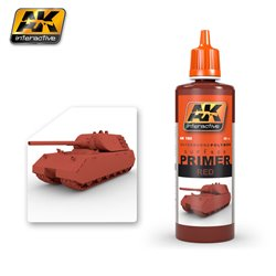 AK Interactive AK180 RED PRIMER 60ML