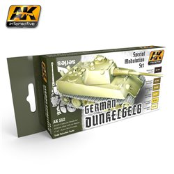AK Interactive AK552 DUNKELGELB MODULATION SET 6x17ml