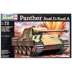 Revell 03107 1/72 Panther Ausf.D/Ausf.A