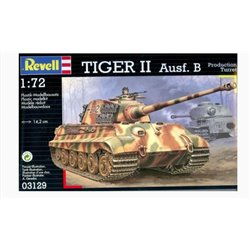 Revell 03129 1/72 Tiger II Ausf. B Production Turret
