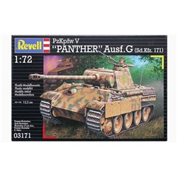 "Revell 03171 1/72 PzKpfw V ""Panther"" Ausf. G (Sd.Kfz. 171)"