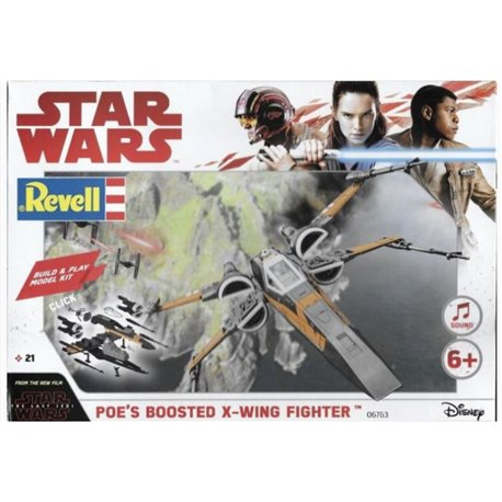Revell 06763 1/78 Star Wars Poe's Boosted X-Wing Fighter