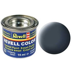 Revell 32109 Gris Anthracite - Anthracite Grey, Mat RAL 7021 10ml
