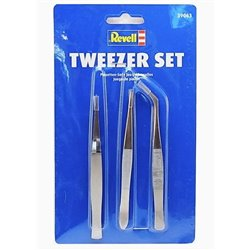 Revell 39063 Precelles - Tweezer Set 3pcs