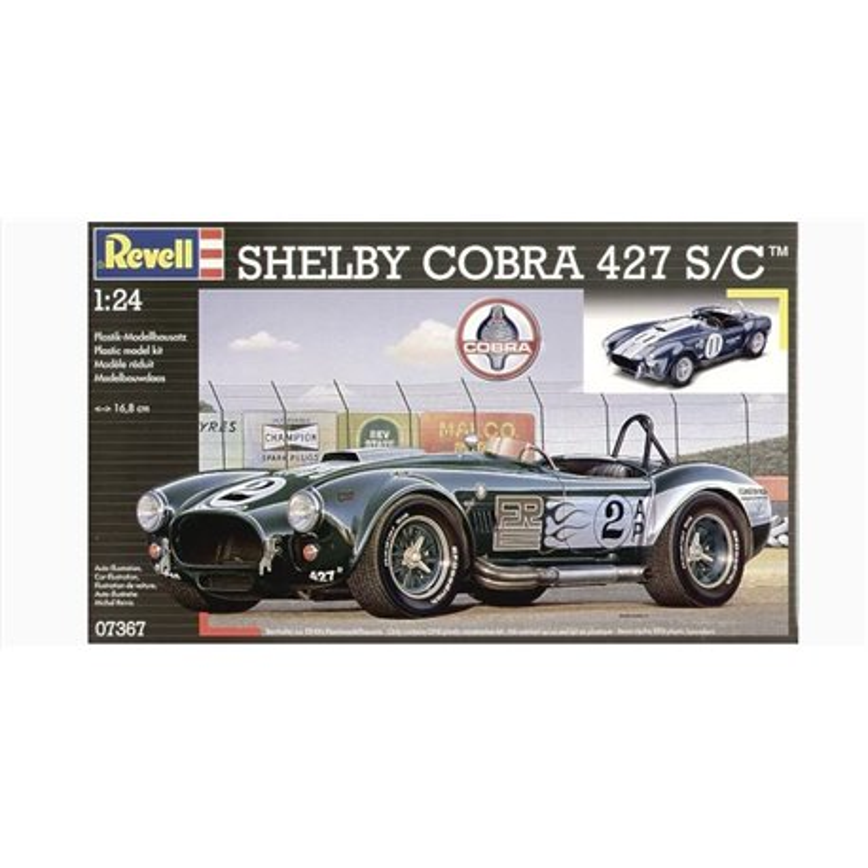 Revell 07367 1/24 Shelby Cobra 427 S/C