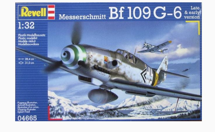 PRODAJA - decali zrakoplovstva NDH 1/72 - Page 2 Revell-04665-132-messerschmitt-bf-109g-6-late-early-version