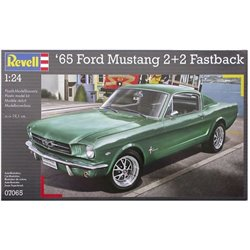 Revell 07065 1/24 '65 Ford Mustang 2+2 Fastback