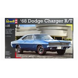 Revell 07188 1/25 '68 Dodge Charger R/T