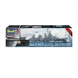Revell 05150 1/144 Fletcher Class Destroyer Platinum Edition