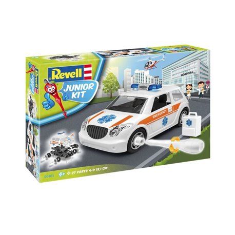 Revell 00805 1/20 Junior Kit Rescue Car