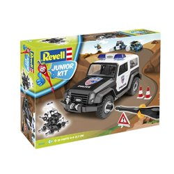 Revell 00807 1/20 Junior Kit Offroad Vehicle Police