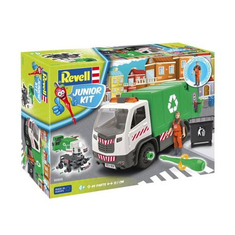 Revell 00808 1/20 Junior Kit Garbage Truck