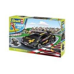 Revell 00809 1/20 Junior Kit Racing Car, schwarz