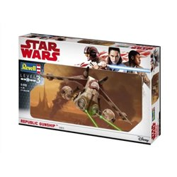 REVELL 03613 1/172 Star Wars Republic Gunship