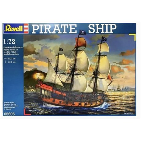 Revell 05605 1/72 Pirate Ship