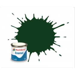 HUMBROL Peinture Enamel 3 BRUNSWICK GREEN 14ml GLOSS