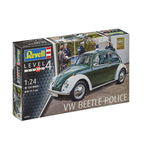 Revell 07035 1/24 VW Beetle Police