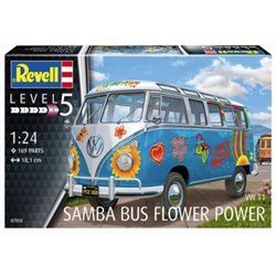 "Revell 07050 1/24 Samba T1 ""Flower Power"""