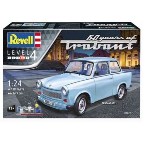 Revell 07777 1/24 Trabant 601S 60 Years of Trabant