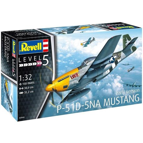 Revell 03944 1/32 P-51D-5NA Mustang Early Version