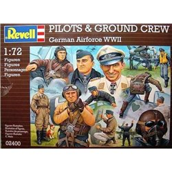 Revell 02400 1/72 German Airforce WWII Pilots & Ground Crew