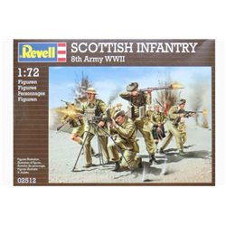 Revell 02512 1/72 Scottish Infantry 8th Army WWII