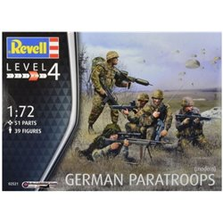 Revell 02521 1/72 German Paratroops