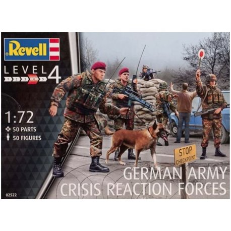 Revell 02522 1/72 German Army Crisis Reaction Forces
