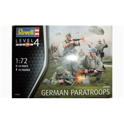 Revell 02532 1/72 German Paratroops WWII
