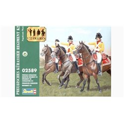 Revell 02589 1/72 Prussian Cuirassiers mounted Regiment K2