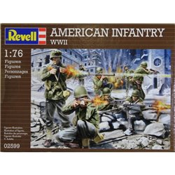 Revell 02599 1/76 American Infantry WWII