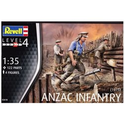 Revell 02618 1/35 ANZAC Infantry (1915)