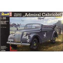"Revell 03099 1/35 German Staff Car ""Admiral Cabriolet"""