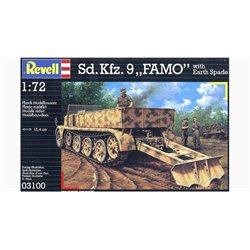 "Revell 03100 1/72 Sd.Kfz. 9 ""Famo"" with Earth Spade"