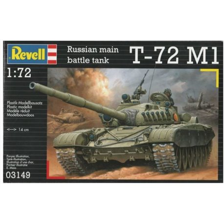 Revell 03149 1/72 Russian main battle tank T-72 M1