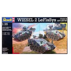 Revell 03205 1/35 Wiesel 2 LeFlaSys (Ozelot & AFF & BF/UF)
