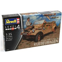 Revell 03253 1/35 German Staff Car Type 82 Kübelwagen