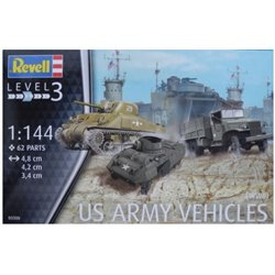 Revell 03350 1/144 US Army vehicles (WWII)