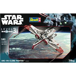 Revell 03608 1/83 ARC-170 Clone Fighte
