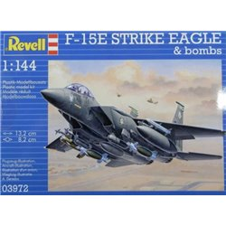 Revell 03972 1/144 F-15E Strike Eagle & bombs