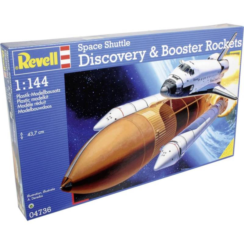 revell 04736 space shuttle discovery - photo #2