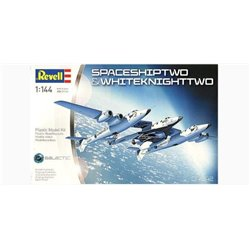 Revell 04842 1/144 SpaceShipTwo & White Knight Two